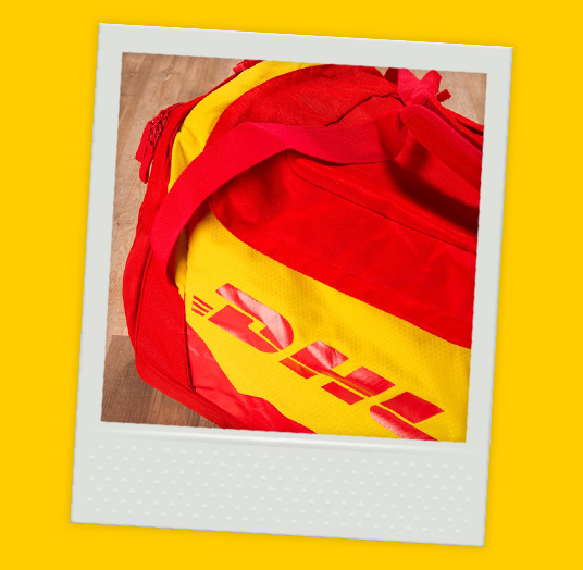 DHL SPORTS AND TRAVEL BAG
