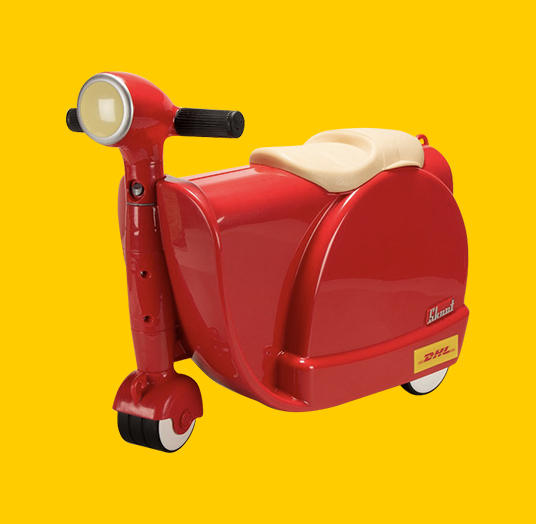 DHL CHILD'S TROLLEY SCOOTER