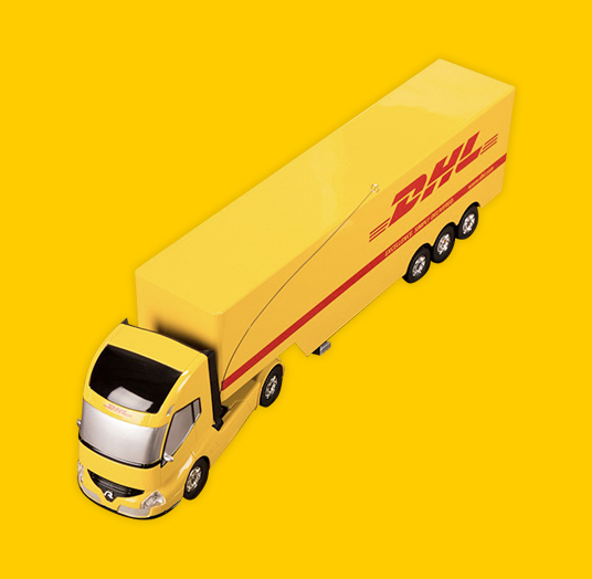 DHL REMOTE CONTROLLED TRUCK