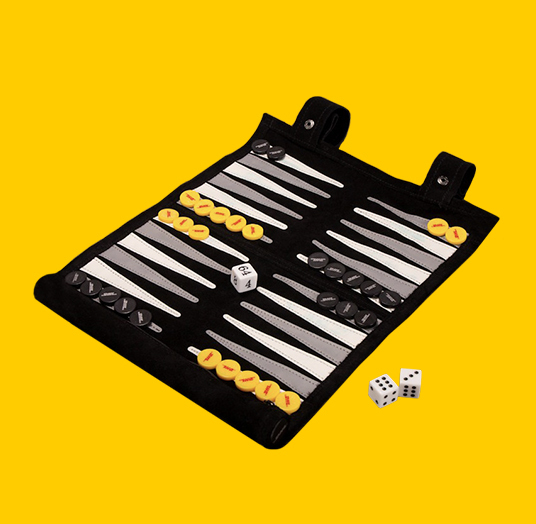 DHL TRAVEL BACKGAMMON