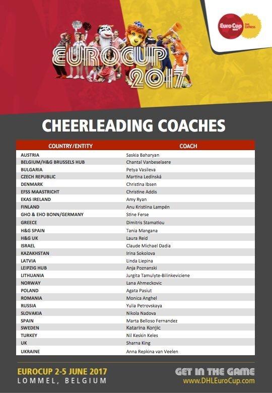 Cheerleading Coaches