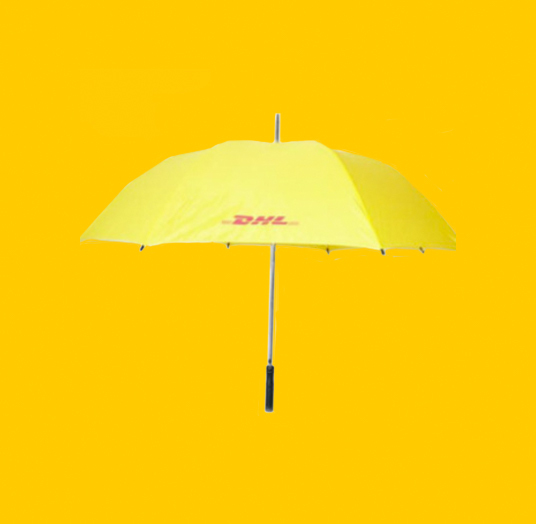 DHL Yellow Umbrella