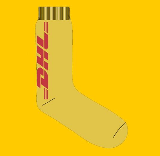 DHL Vetements Socks
