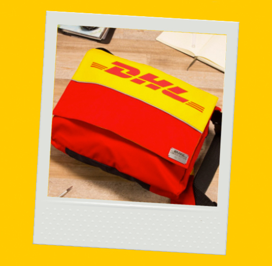DHL UPCYCLED MESSENGER - LIMITED EDITION