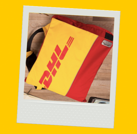 DHL UPCYCLED BACKPACK - LIMITED EDITION
