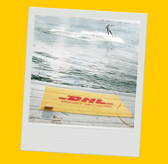 DHL BEACH AND SAUNA TOWEL