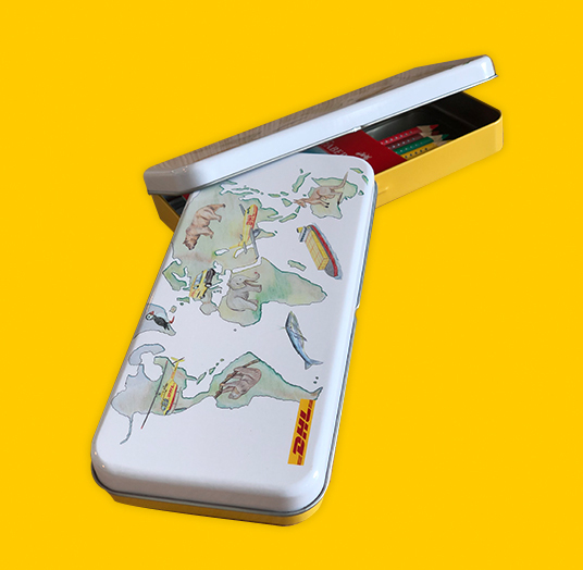 DHL Pencil Box